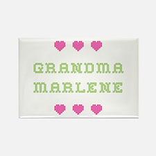 Grandma Marlene Rectangle Magnet