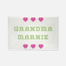 Grandma Marnie Rectangle Magnet