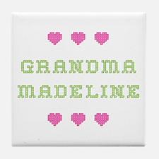 Grandma Madeline Tile Coaster