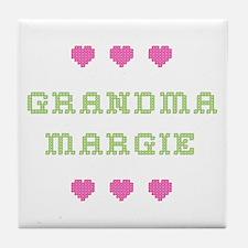 Grandma Margie Tile Coaster