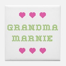 Grandma Marnie Tile Coaster