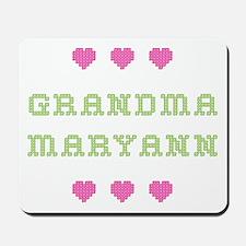 Grandma Maryann Mousepad
