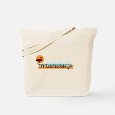 Fort Lauderdale - Beach Design. Tote Bag