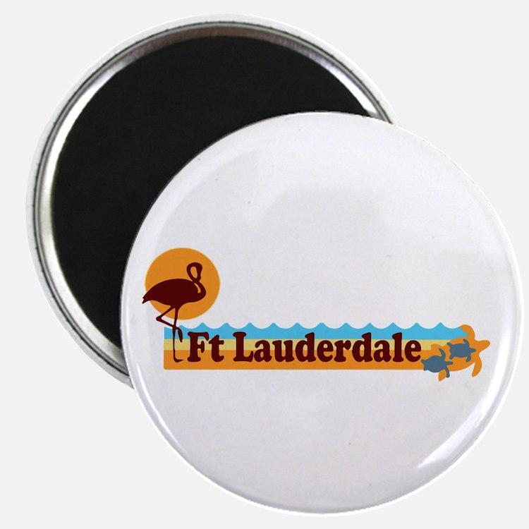 Fort Lauderdale - Beach Design. Magnet