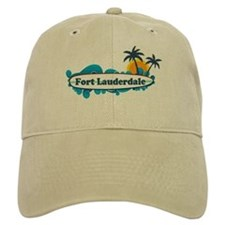 Fort Lauderdale - Surf Design. Baseball Cap