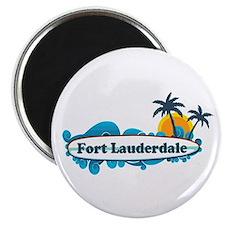 Fort Lauderdale - Surf Design. Magnet