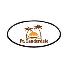 Fort Lauderdale - Palm Trees Design. Patches