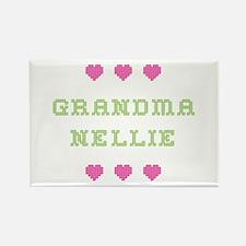 Grandma Nellie Rectangle Magnet