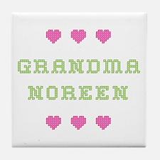 Grandma Noreen Tile Coaster