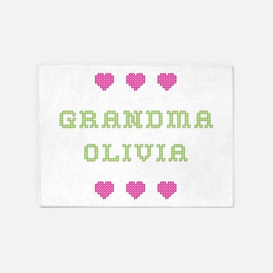 Grandma Olivia 5'x7' Area Rug