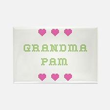 Grandma Pam Rectangle Magnet