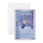 Christmas Wishes Poster Greeting Cards