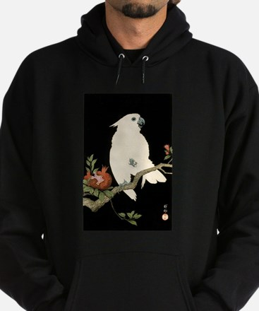 Cool japanese white cockatoo parrot tro Sweatshirt