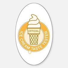 Ice Cream Taste Tester Decal