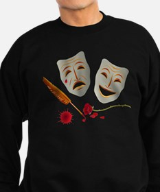 Theater Masks Sweatshirt