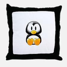 Adorable Penquin Throw Pillow