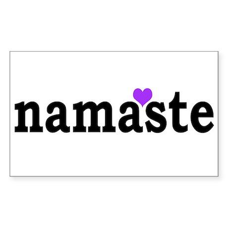 Namaste Sticker