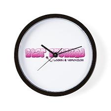 LoVe Star Crossed Wall Clock