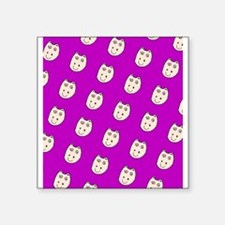 Purple Ditto Hippo Mirage Designer Sticker