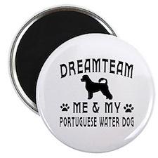 Portuguese Water Dog Designs Magnet