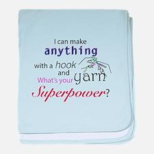 Crochet Superhero baby blanket