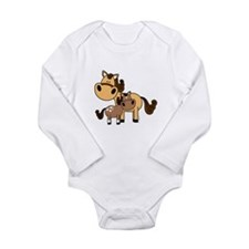 Mama and Baby Horse Infant Creeper Body Suit