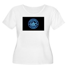 Come and Take It (BlueGlow) Plus Size T-Shirt