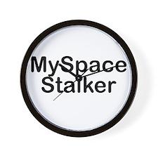 MySpace Stalker Wall Clock