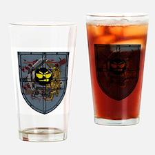Boom Headshot Drinking Glass