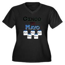 Cinco de Mayo Jars Plus Size T-Shirt