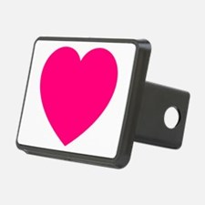 Hot Pink Heart Hitch Cover