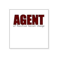 Agent of Change Sticker