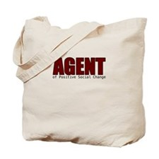 Agent of Change Tote Bag