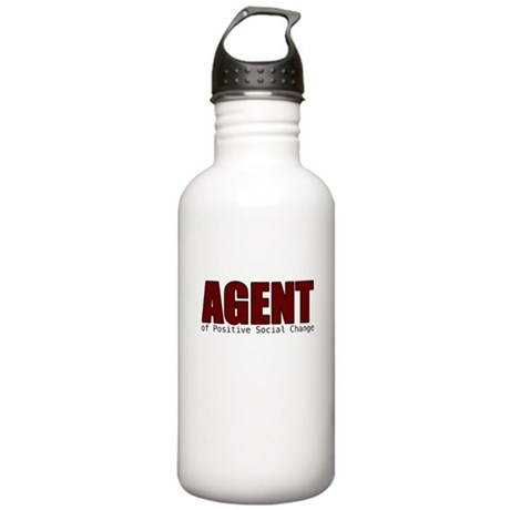 Agent of Change Water Bottle