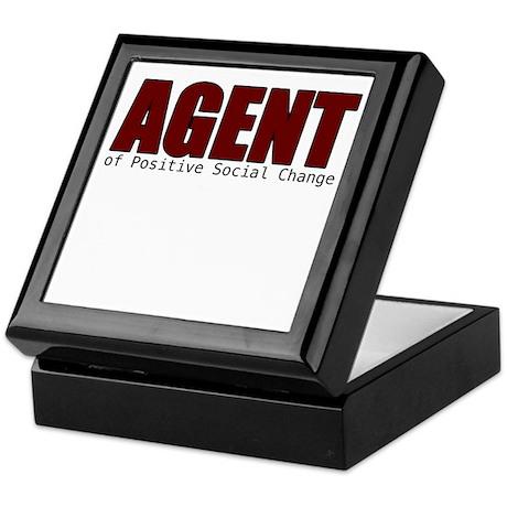 Agent of Change Keepsake Box