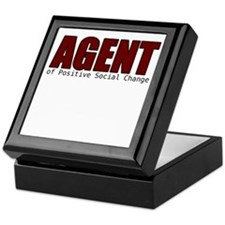 Agent of Change Keepsake Box