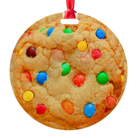Chocolate Cookie Christmas Ornament