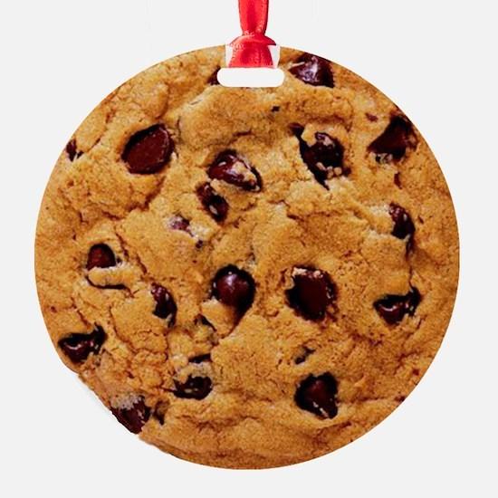 Chocolate Chip Christmas Ornament