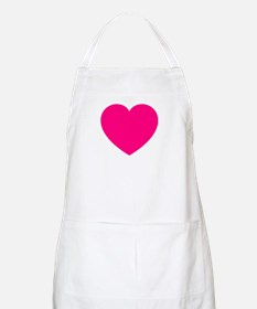 Hot Pink Heart Apron