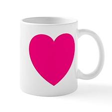 Hot Pink Heart Mug