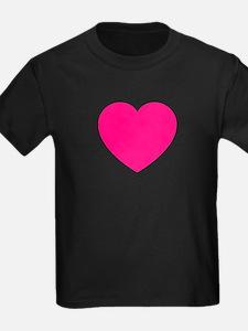 Hot Pink Heart T-Shirt