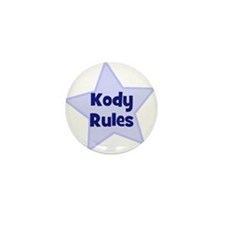 Kody Rules Mini Button (10 pack)