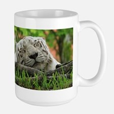 Sleeping Beauty/Bengal White Tiger Mug