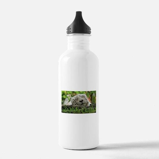 Sleeping Beauty/Bengal White Tiger Water Bottle