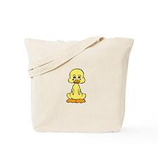 Huggable Baby Duck Tote Bag