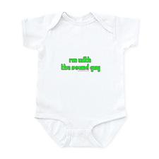 I'm W/ The Sound Guy Infant Bodysuit
