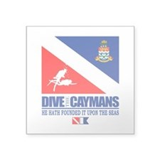 Dive The Caymans Sticker
