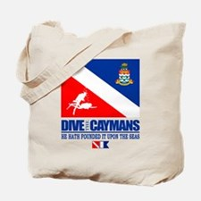 Dive The Caymans Tote Bag
