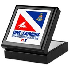 Dive The Caymans Keepsake Box