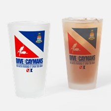 Dive The Caymans Drinking Glass